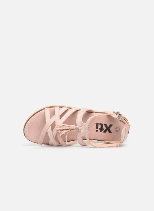 Sandales et nu-pieds Xti 56781 Rose vue gauche