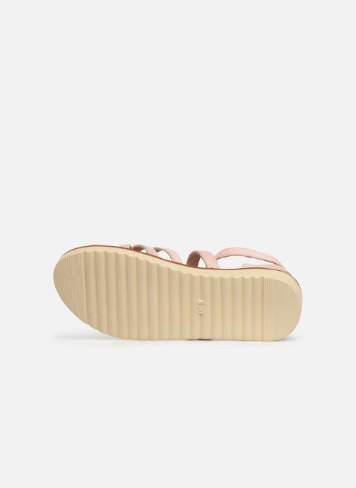 Sandales et nu-pieds Xti 56781 Rose vue haut