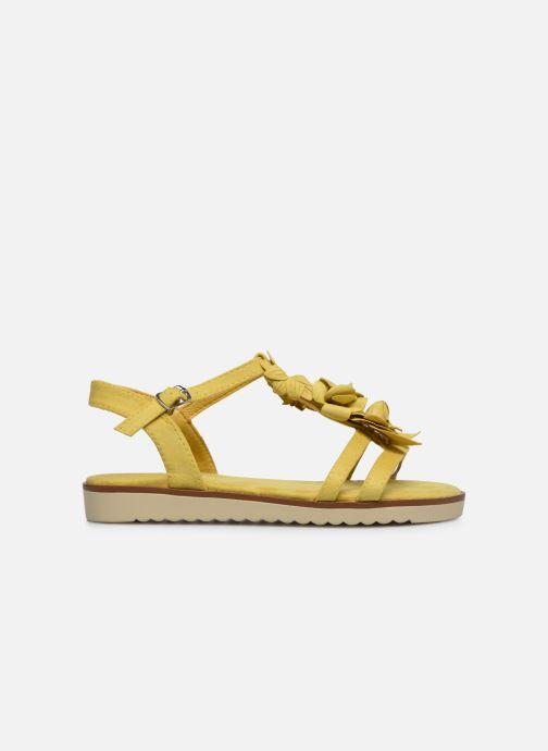 Sandales et nu-pieds Xti 56869 Jaune vue derrière