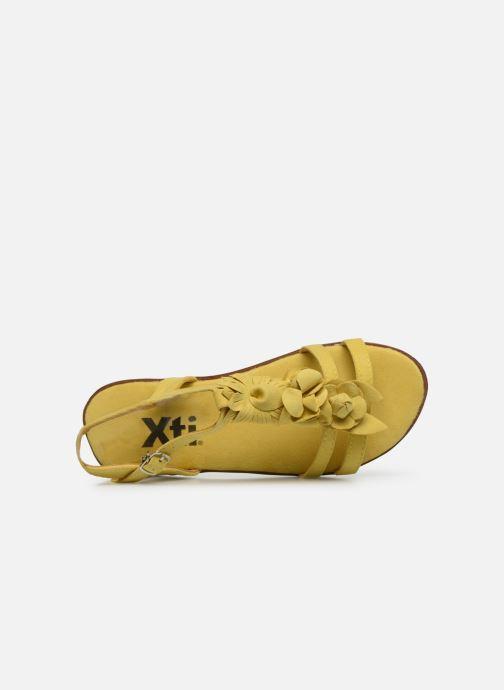 Sandales et nu-pieds Xti 56869 Jaune vue gauche