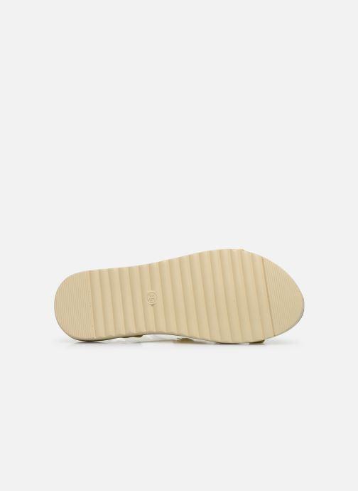 Sandales et nu-pieds Xti 56869 Jaune vue haut