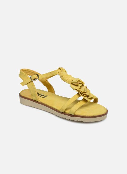 Sandales et nu-pieds Xti 56869 Jaune vue détail/paire