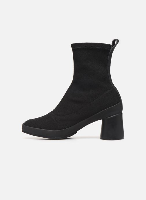 Ankle boots Camper Upright K400370 Black front view