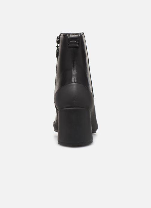 Bottines et boots Camper Upright K400371 Noir vue droite
