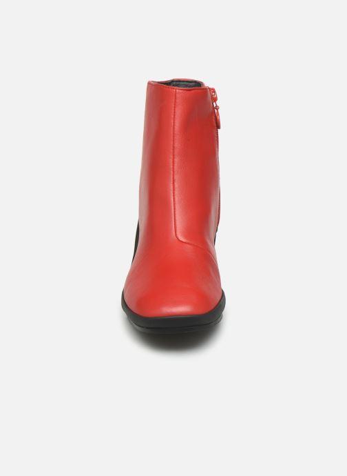 Bottines et boots Camper Upright K400371 Rouge vue portées chaussures