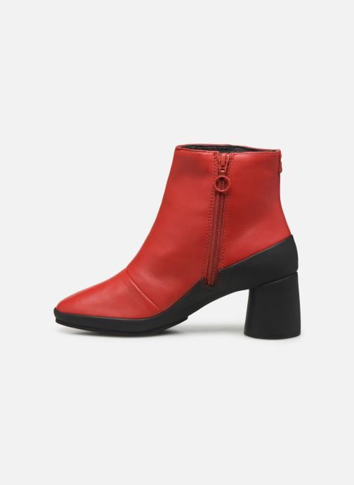 Ankle boots Camper Upright K400371 Red front view