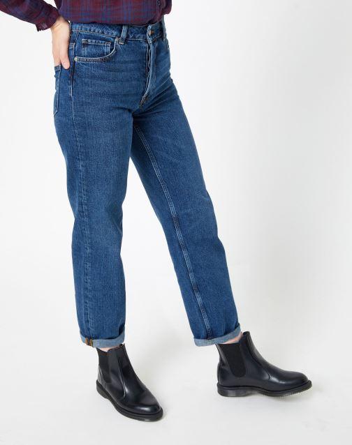 Vêtements Selected Femme Slfkate Jean Bleu vue détail/paire