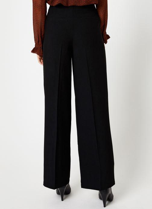 Vêtements Selected Femme Slftinni Pant Noir vue portées chaussures
