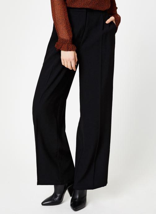 Vêtements Selected Femme Slftinni Pant Noir vue détail/paire