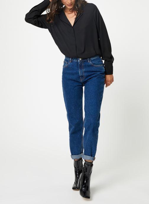 Vêtements Selected Femme Slfstina-Dynella Shirt Noir vue bas / vue portée sac