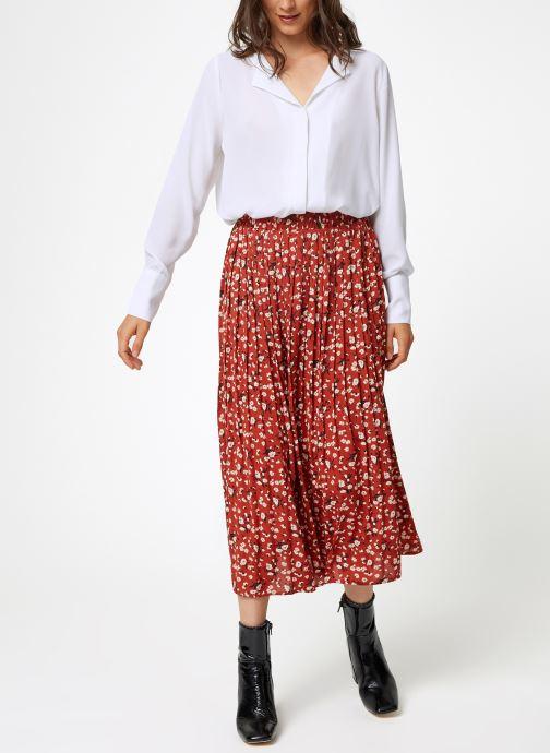 Vêtements Selected Femme Slfstina-Dynella Shirt Blanc vue bas / vue portée sac