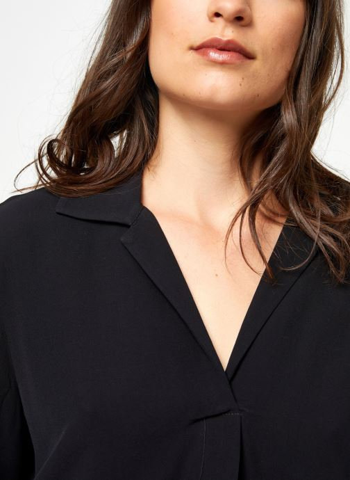 Vêtements Selected Femme Slfdaisy Top Noir vue face
