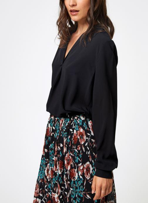 Vêtements Selected Femme Slfdaisy Top Noir vue droite