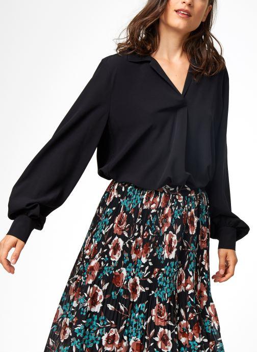 Vêtements Selected Femme Slfdaisy Top Noir vue détail/paire
