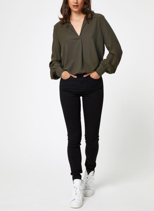 Vêtements Selected Femme Slfdaisy Top Vert vue bas / vue portée sac