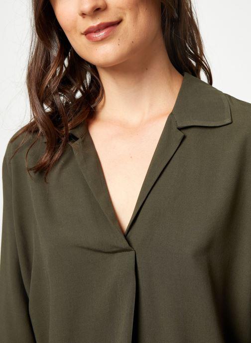 Vêtements Selected Femme Slfdaisy Top Vert vue face