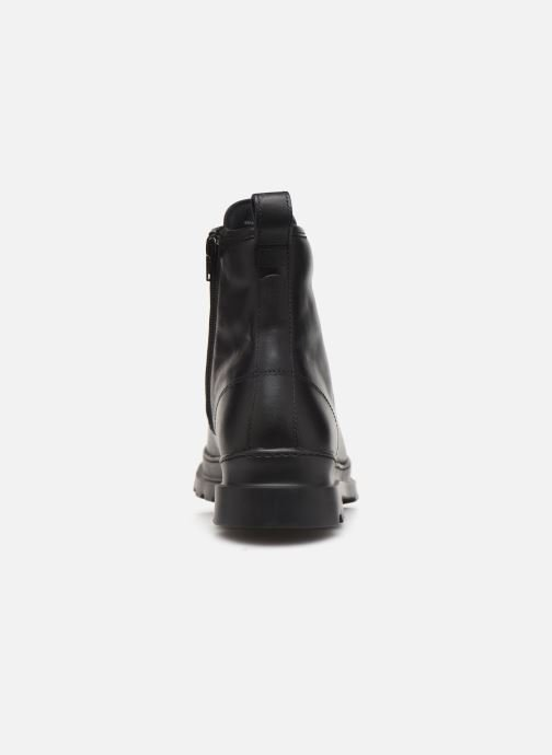 Ankle boots Camper Brutus K300245 Black view from the right