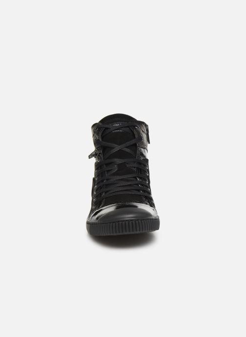 Baskets Pataugas Banjou C Noir vue portées chaussures