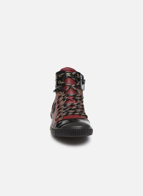 Baskets Pataugas Banjou C Bordeaux vue portées chaussures