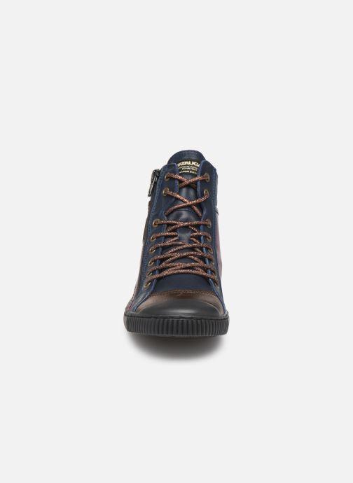 Baskets Pataugas Bono C Multicolore vue portées chaussures