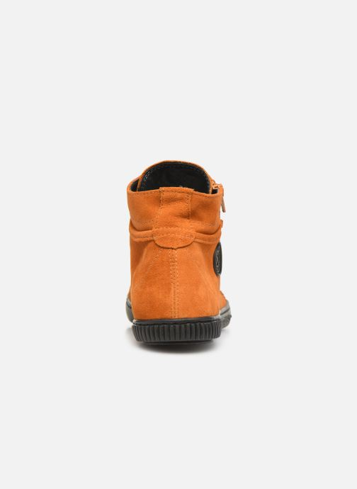 Trainers Pataugas Bono C Orange view from the right