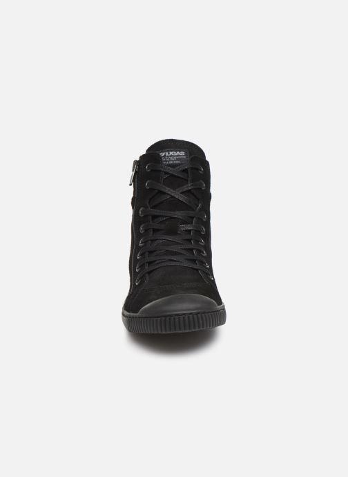 Baskets Pataugas Bono/CR C Noir vue portées chaussures