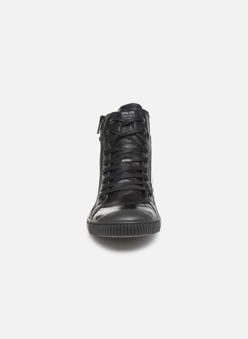 Baskets Pataugas Bono/V C Noir vue portées chaussures