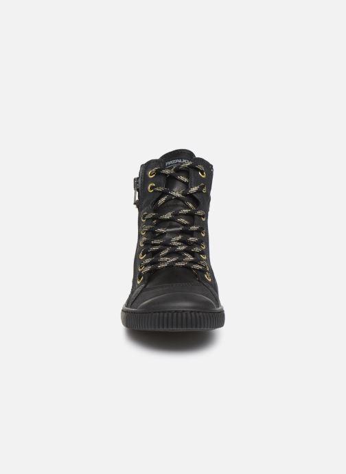 Baskets Pataugas Bono/N C Noir vue portées chaussures