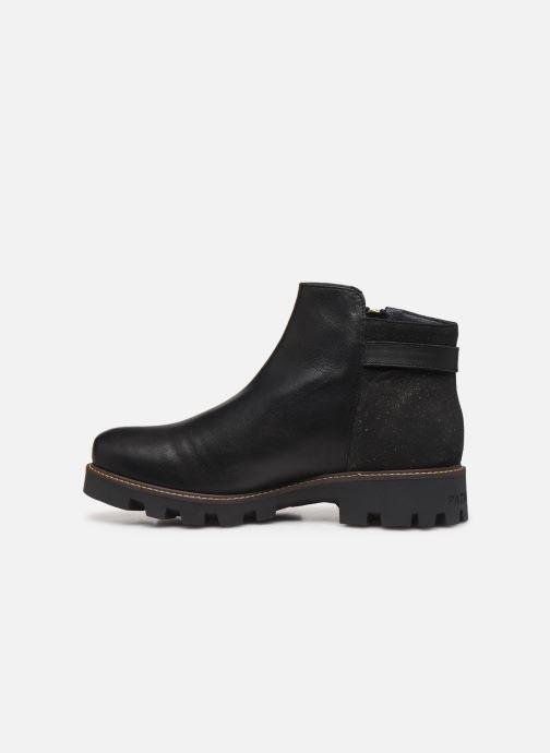 Bottines et boots Pataugas Clara C Noir vue face