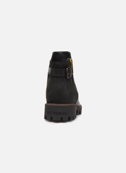 Bottines et boots Pataugas Clara C Noir vue droite