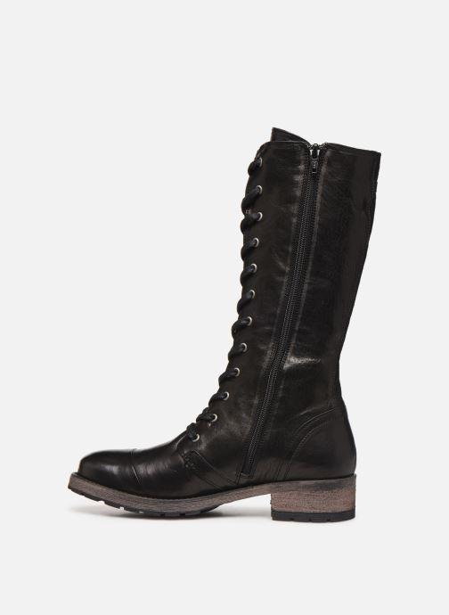 Stiefel Pataugas Dolce C schwarz ansicht von vorne