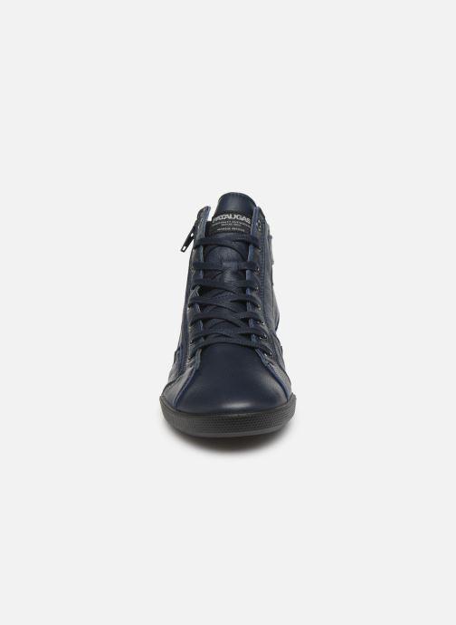 Baskets Pataugas Palme C Bleu vue portées chaussures