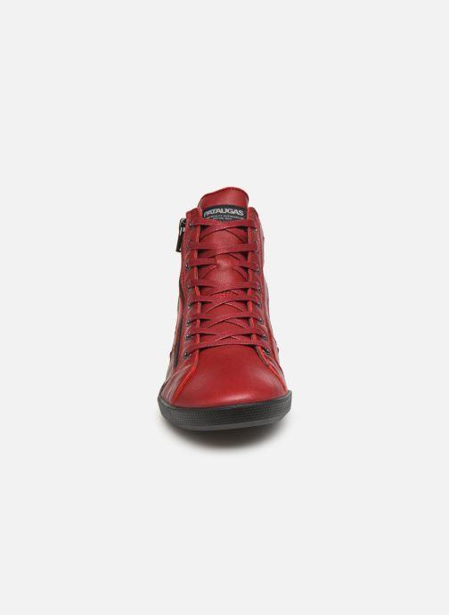 Baskets Pataugas Palme C Rouge vue portées chaussures