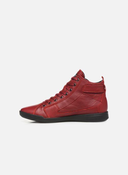 Baskets Pataugas Palme C Rouge vue face