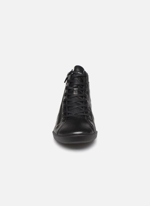 Baskets Pataugas Palme/N C Noir vue portées chaussures