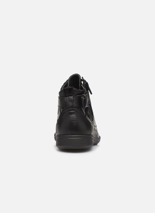 Baskets Pataugas Palme/N C Noir vue droite