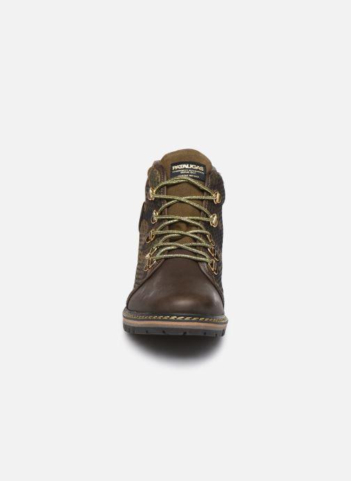 Bottines et boots Pataugas Nala C Vert vue portées chaussures