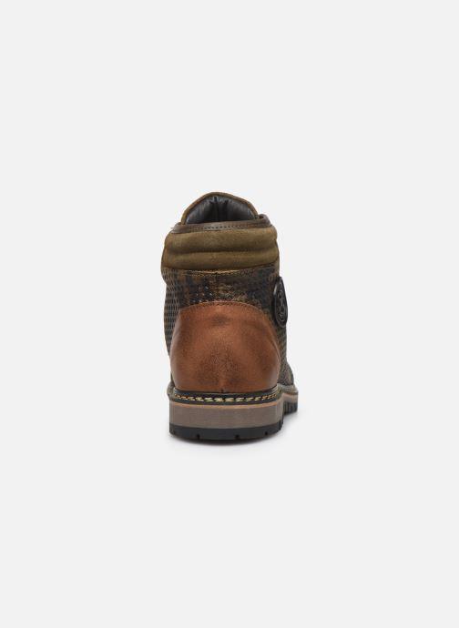 Bottines et boots Pataugas Nala C Vert vue droite