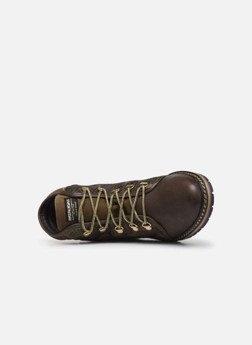 Bottines et boots Pataugas Nala C Vert vue gauche