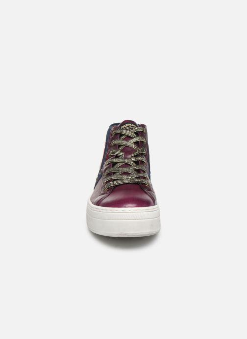 Baskets Pataugas Vera C Violet vue portées chaussures