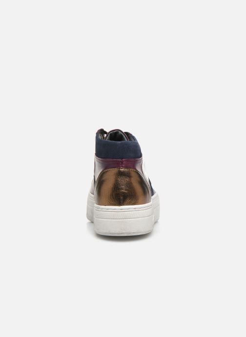 Sneaker Pataugas Vera C lila ansicht von rechts
