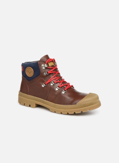 Bottines et boots Pataugas Alban C Marron vue détail/paire