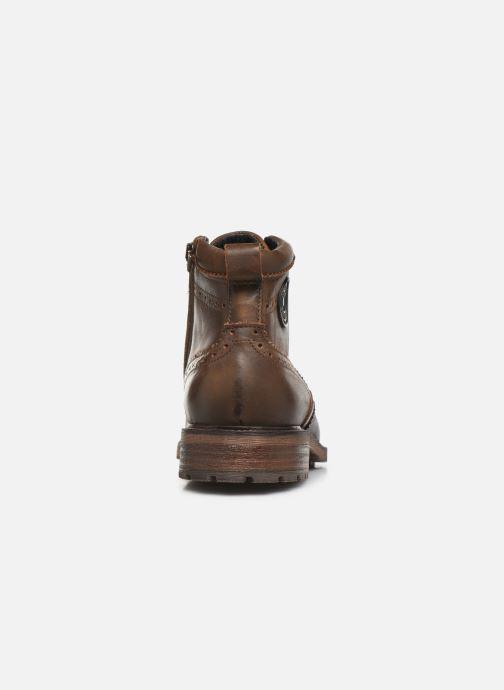 Bottines et boots Pataugas Farel C Marron vue droite
