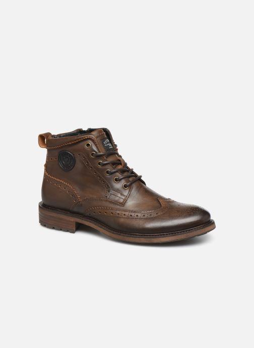 Bottines et boots Pataugas Farel C Marron vue détail/paire