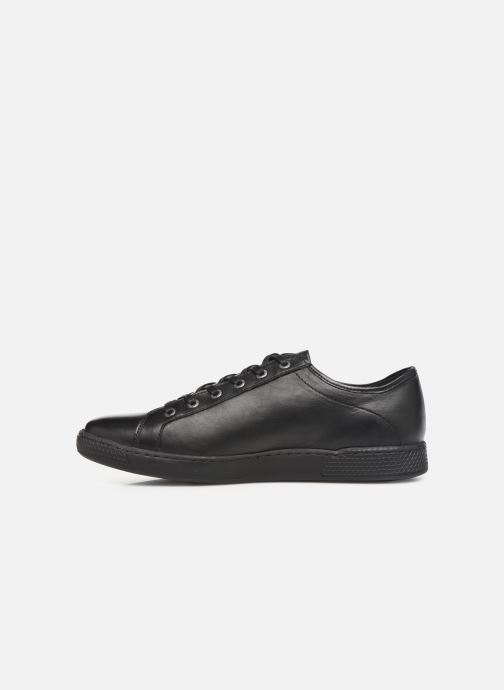 Sneaker Pataugas Jay C schwarz ansicht von vorne
