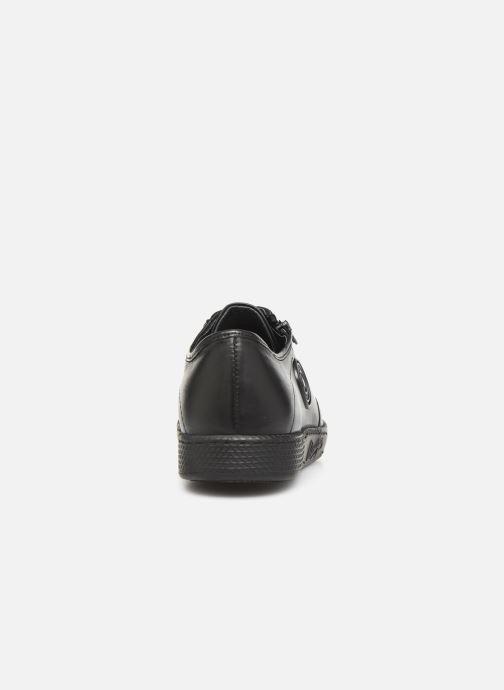 Sneaker Pataugas Jay C schwarz ansicht von rechts