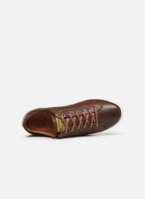 Sneaker Pataugas Jay C braun ansicht von links