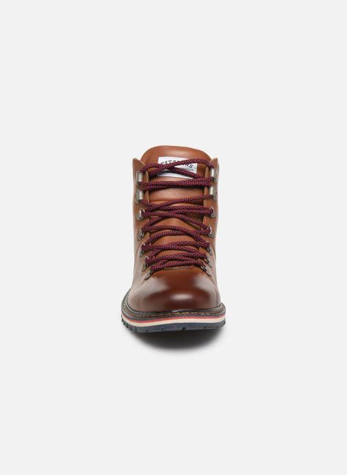 Bottines et boots Pataugas Neo C Marron vue portées chaussures