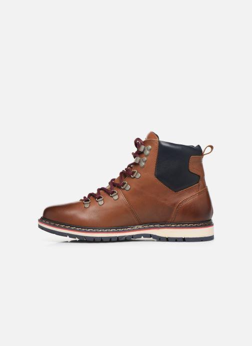 Bottines et boots Pataugas Neo C Marron vue face