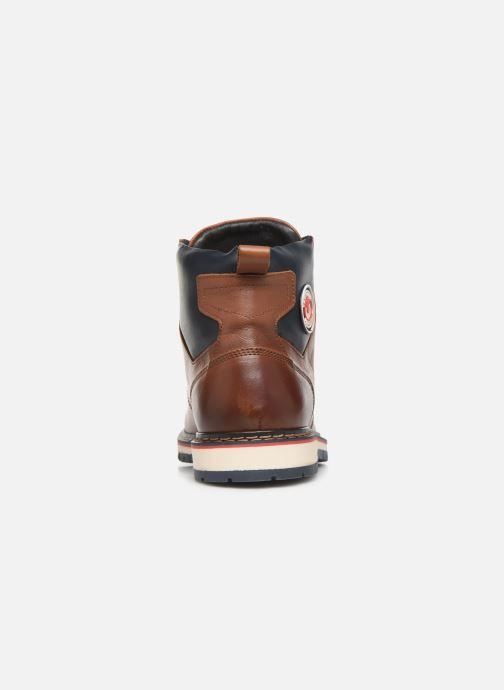 Bottines et boots Pataugas Neo C Marron vue droite